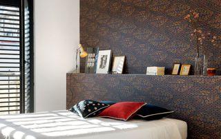 papier peint chambre à coucher
