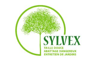 logo Sylvex : taille douce, abattage dangereux, entretien de jardins