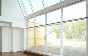 baie vitrée châssis aluminium