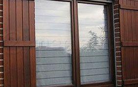 profilés en bois de porte extérieure