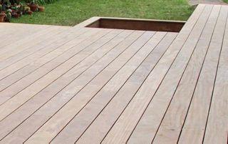 aménagement terrasse en bois Brabant wallon