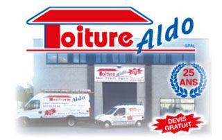 Logo de Toiture Aldo, couvreurs professionnels
