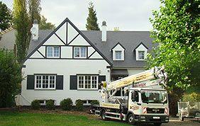 rénovation de toit de villa à bruxelles