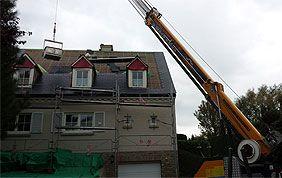 construction nouvelle toiture