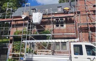 travaux de toiture à Liège