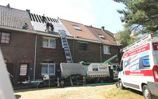 réalisation toiture inclinée