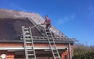 Nettoyage haute pression toiture