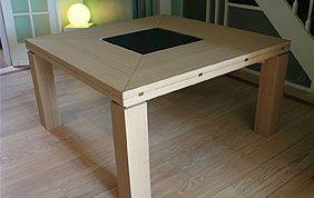 table basse bois sur mesure