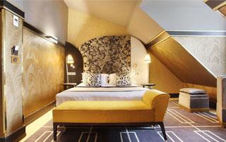 tapissage chambre sous pente