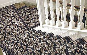 tapis plain escalier