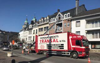 équipe de déménageurs à Liège