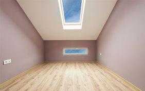 peinture chambre sous toit