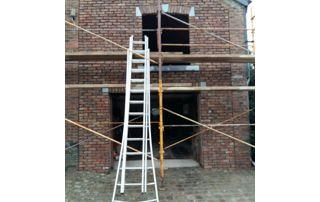 rénovation façade en briques