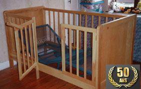 Mobilier et lit bébé sur mesure