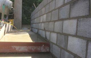 réalisation d'un escalier extérieur