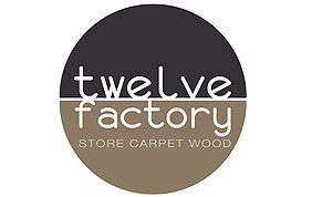 Logo de Twelve Factory, store carpet Wood