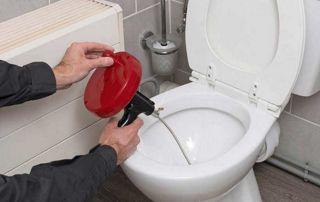 Inspection par caméra WC bouché