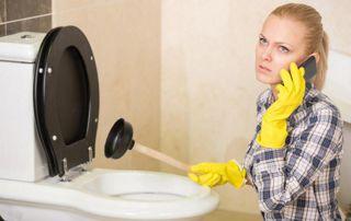 problème WC bouché