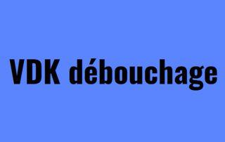 logo VDK  Débouchage