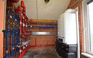 installation de chauffage central