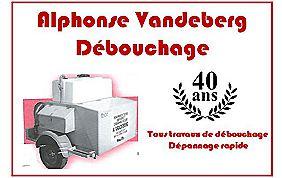 Alphonse Vandeberg Débouchage