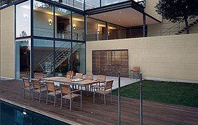 plancher extérieur en bois