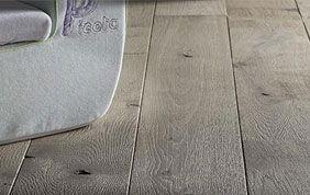 plancher en bois vieilli