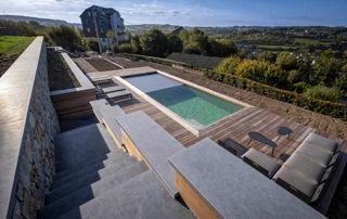 protection pour piscine extérieure