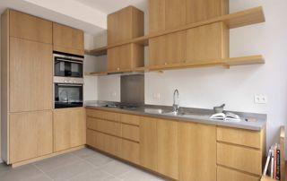 placards de cuisine en bois