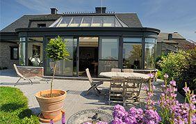 veranda aluminium sur terrasse