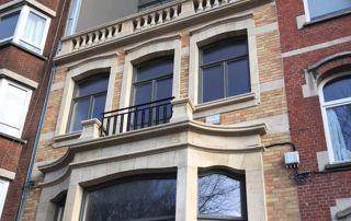 rénovation de façade à Bruxelles