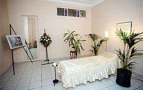 intérieur funérarium pour veillée funèbre