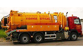 camion Vidange Efficace