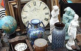 Horloges et vases