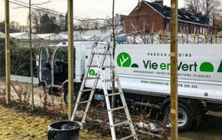 camionnette La Vie en Vert
