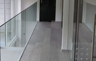 garde-corps en verre