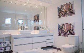 miroir de salle de bain sur mesure