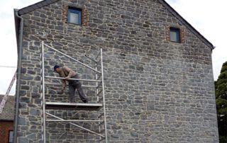 traitement hydrofuge mur extérieur