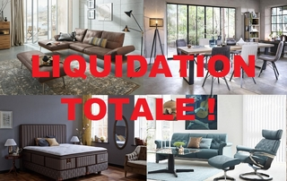 Liquidation totale des meubles Willy Vander Elst