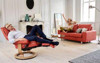 salon cuir Stressless : relax et canapé
