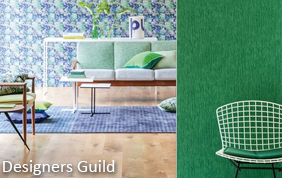 tapissage avec revêtement Designers Guild