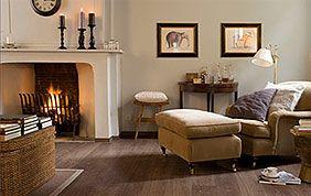 salon classique et chaleureux