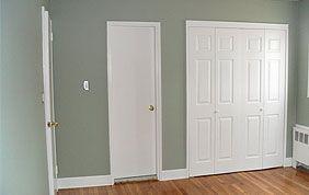 peinture murs et portes intérieures