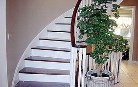 rafraîchissement cage d'escalier