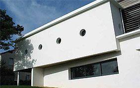peinture façade blanche