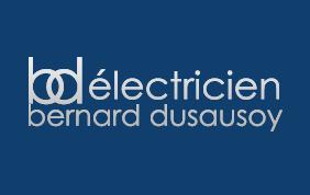 logo électricien bernard dusausoy
