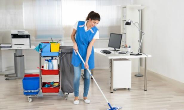 Lavage de sols bureaux