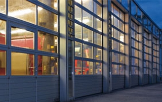 porte de garage industrie