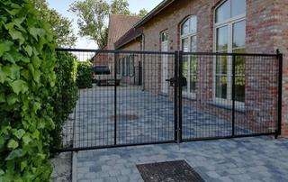 Vente et pose de clôtures et portails en Hainaut