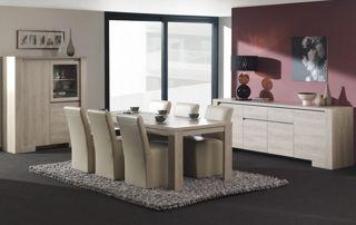 Salle à manger design blanche